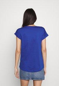 Vila - VIDREAMERS PURE - Basic T-shirt - mazarine blue - 2
