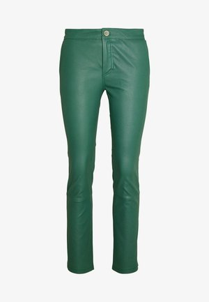 LEYA - Kožené kalhoty - sagebrush