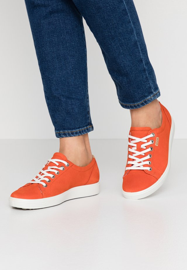 ECCO SOFT 7 W - Sneakers laag - fire