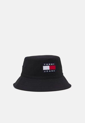 HERITAGE BUCKET HAT UNISEX - Klobouk - black