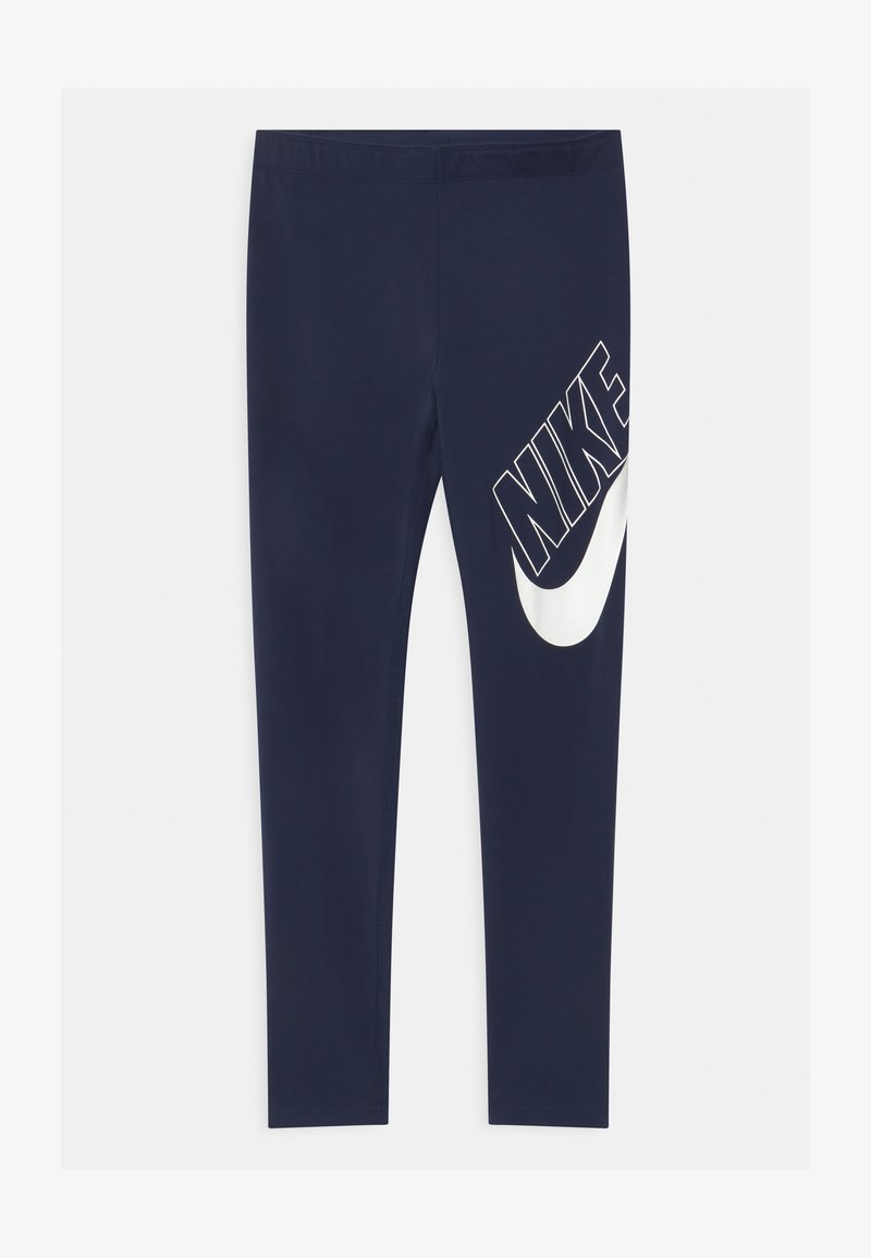 Nike Sportswear - FAVORITES - Legíny - midnight navy/white