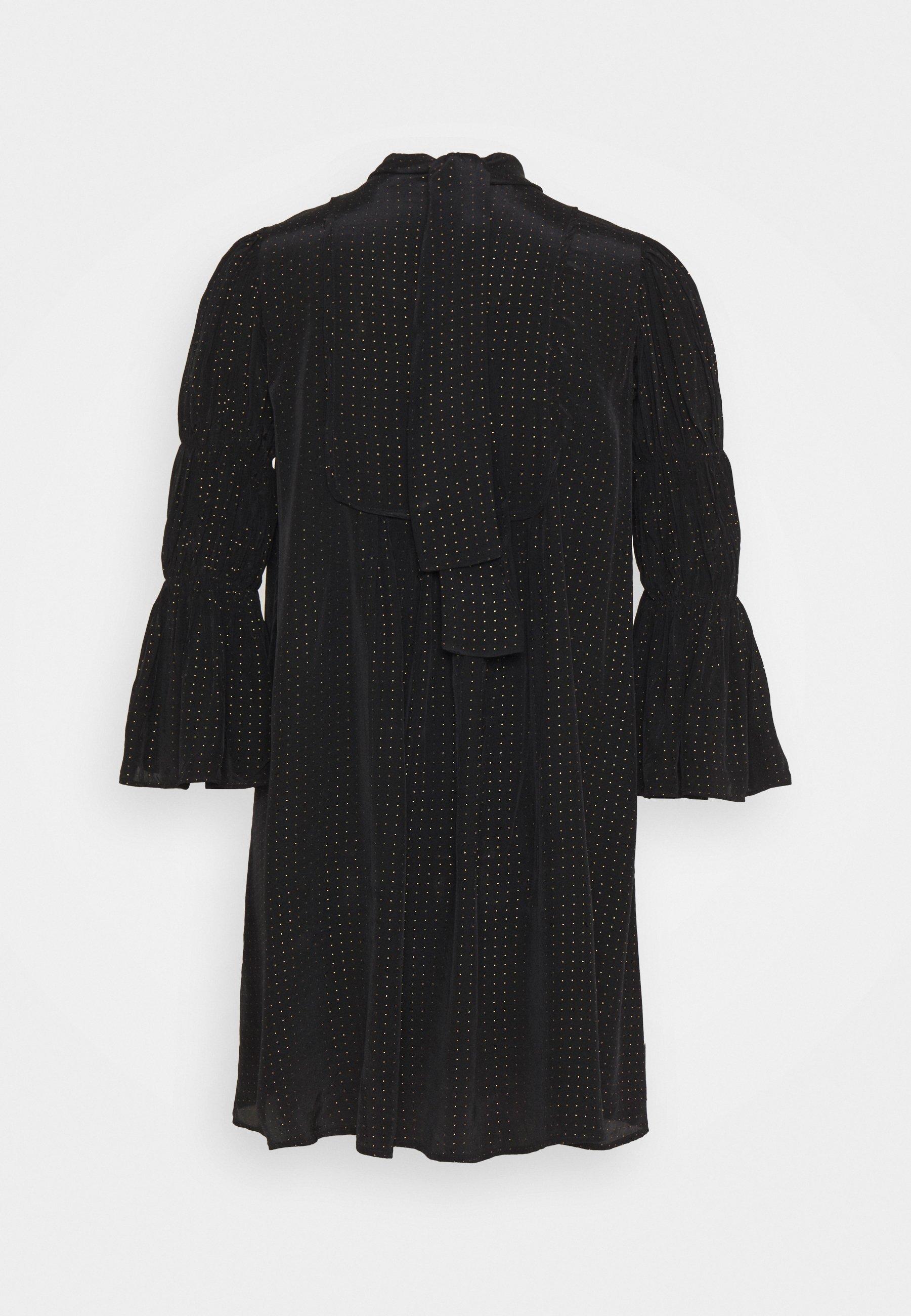 Women SHINY VINTAGE SHIFT DRESS - Cocktail dress / Party dress