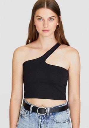 MIT OVALER SCHNALLE  - Belt - black