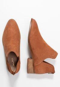 ALDO - KAICIA - Ankle boots - medium brown - 3