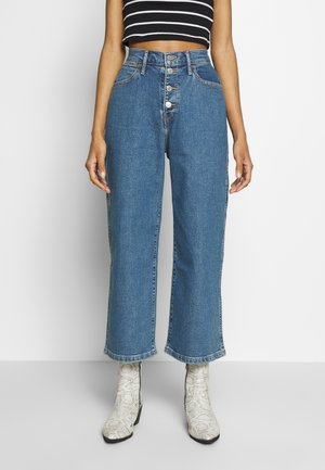 MILE HIGH BUTTONS - Flared jeans - stoned out