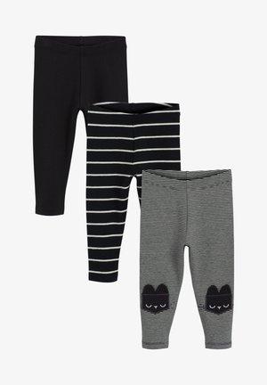 3 PACK - Leggings - Trousers - blue