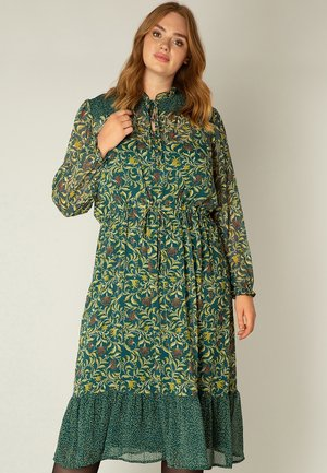ONE PIECES VERINE - Maxi dress - deep teal/multi-colo