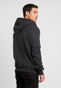 Superdry - ORANGE LABEL CLASSIC ZIPHOOD - Zip-up hoodie - nightshade black marl - 2