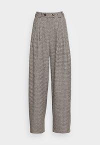 Stella Nova - ELINE - Kalhoty - beige black checks - 3
