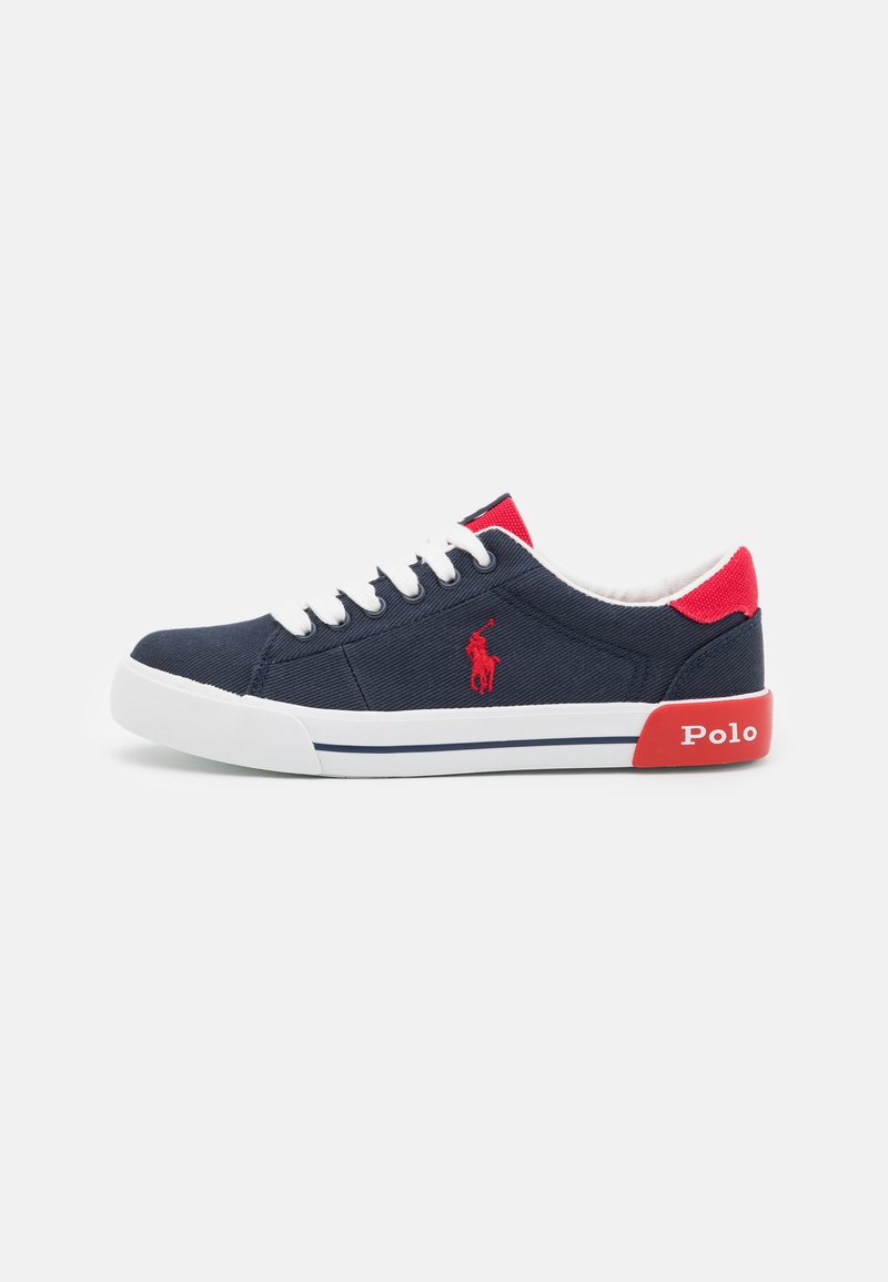 Polo Ralph Lauren - GRAFTYN UNISEX - Trainers - navy/red