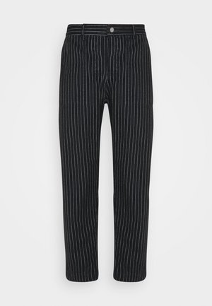 PAINTER MAN PANT - Trousers - black