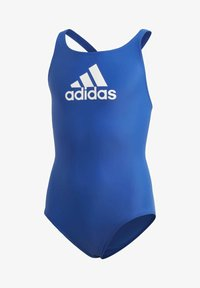 adidas Performance - BADGE OF SPORT SWIMSUIT - Maillot de bain - blue - 0