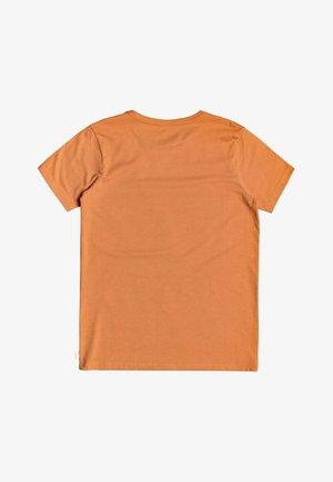 QUIKSILVER™ BAD LIAR - T-SHIRT FÜR JUNGEN 8-16 EQBZT04153 - Print T-shirt - apricot buff heather