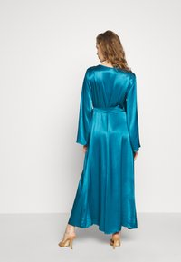 Cortefiel - WRAP LONG DRESS - Iltapuku - medium blue - 2
