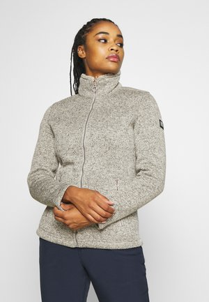 RAZIA - Fleece jacket - white
