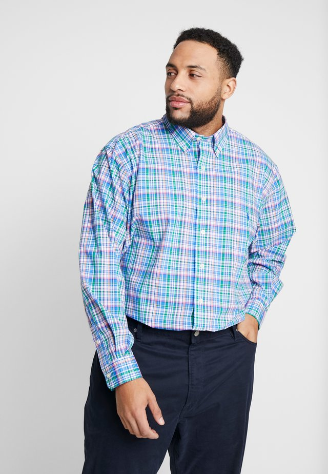 NATURAL STRCH - Chemise - blue/pink