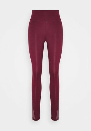 ONE 7/8  - Legginsy - dark beetroot