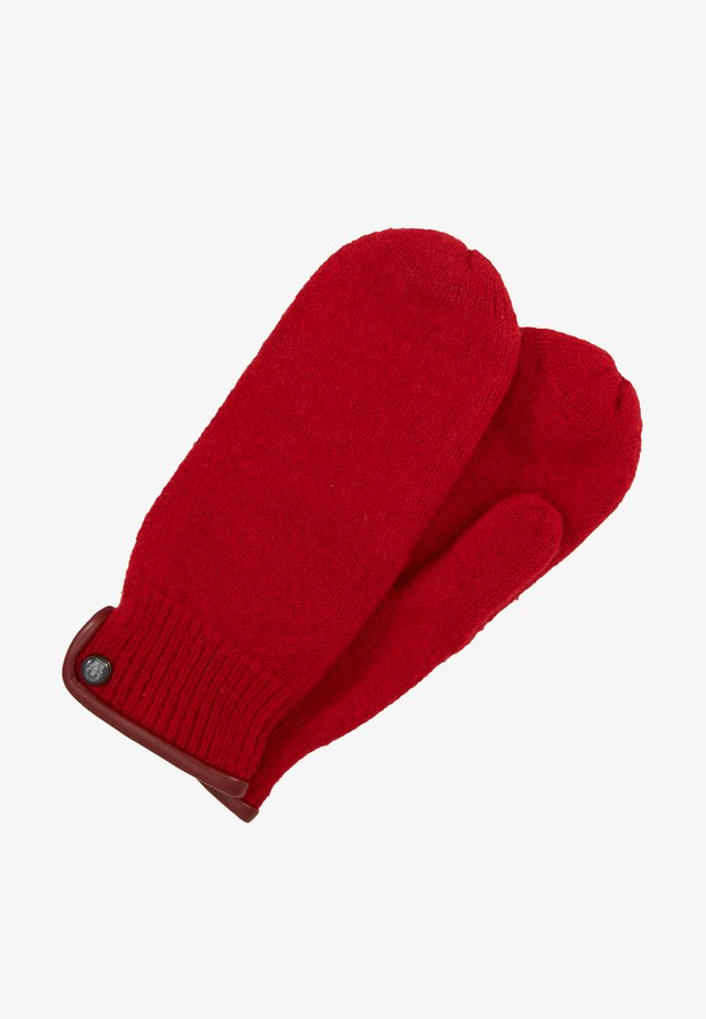 Mittens - red