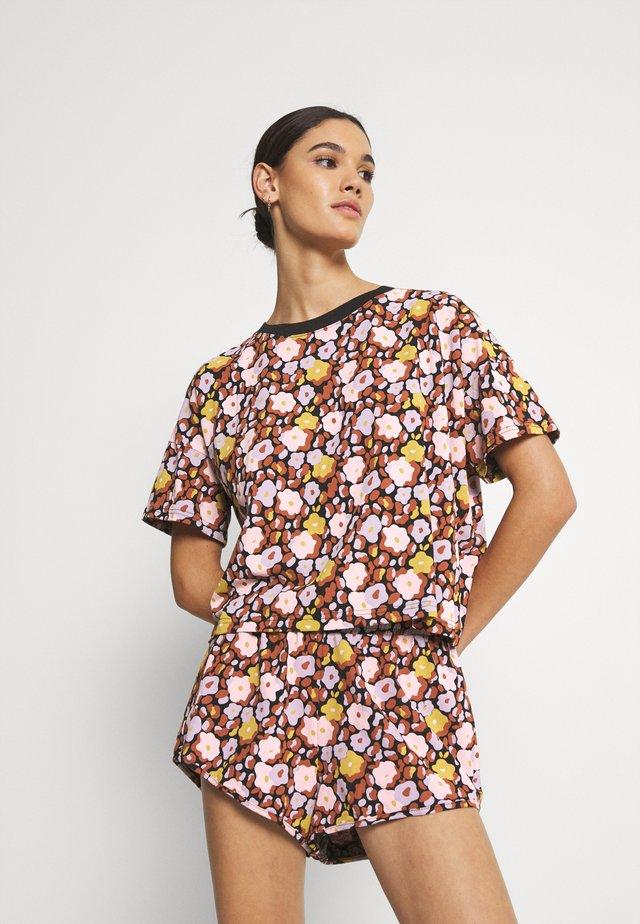 SET - Pyjama - black dark