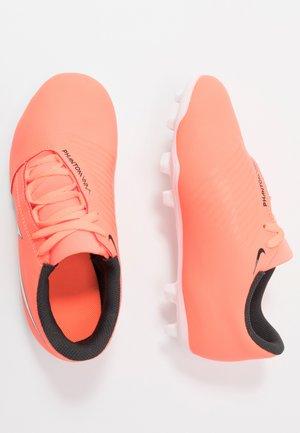 PHANTOM CLUB FG - Moulded stud football boots - bright mango/white/anthracite