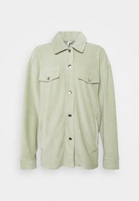 Nly by Nelly - OVERSIZED SHACKET - Blouse - pistachio - 4