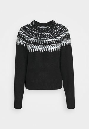 KLARA  - Jumper - black/grey