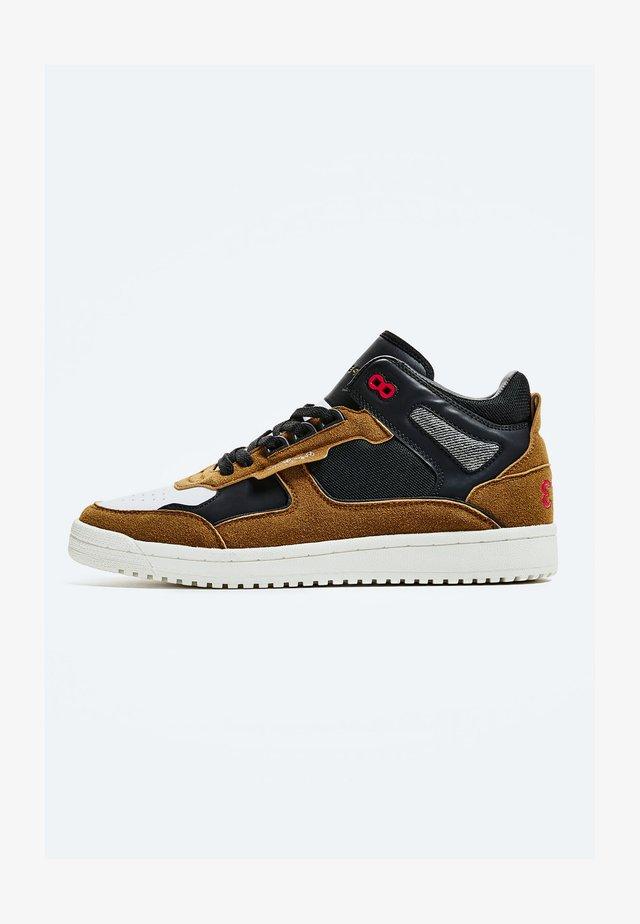 KURT BASKET WINTER - Chaussures de skate - cognac