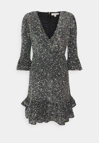 MICHAEL Michael Kors - RUFFLE MINI  - Cocktail dress / Party dress - silver-coloured - 4