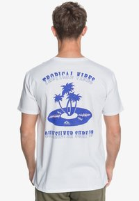 Quiksilver - TROPICAL VIBES  - Print T-shirt - white - 2