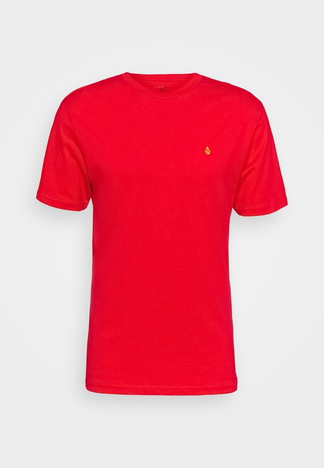 STONE BLANKS  - T-shirt basique - fiery red