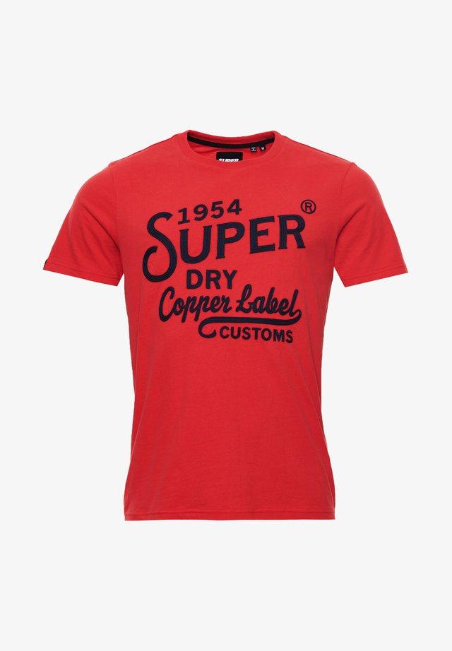 WORKWEAR  STANDARD - T-shirt imprimé - risk red
