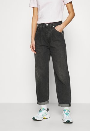 BAGGY JEAN - Jeansy Relaxed Fit - denim grey