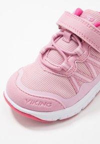 Viking - HOLMEN - Hiking shoes - pink/fuchsia - 2