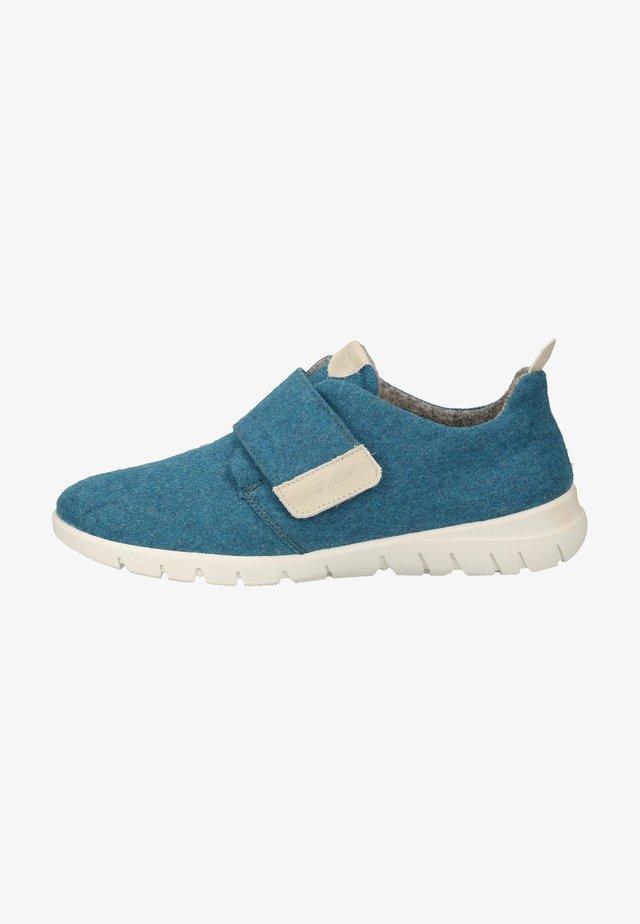 Sneakers laag - kobalt