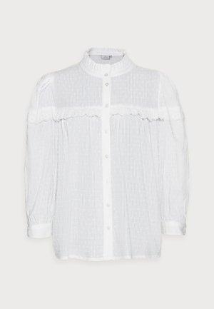 JOANNA BLOUSE - Button-down blouse - chalk