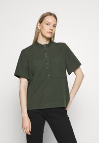 edc by Esprit - CORE BEST - Bluser - khaki green - 0