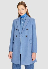 Stradivarius - Classic coat - blue - 0