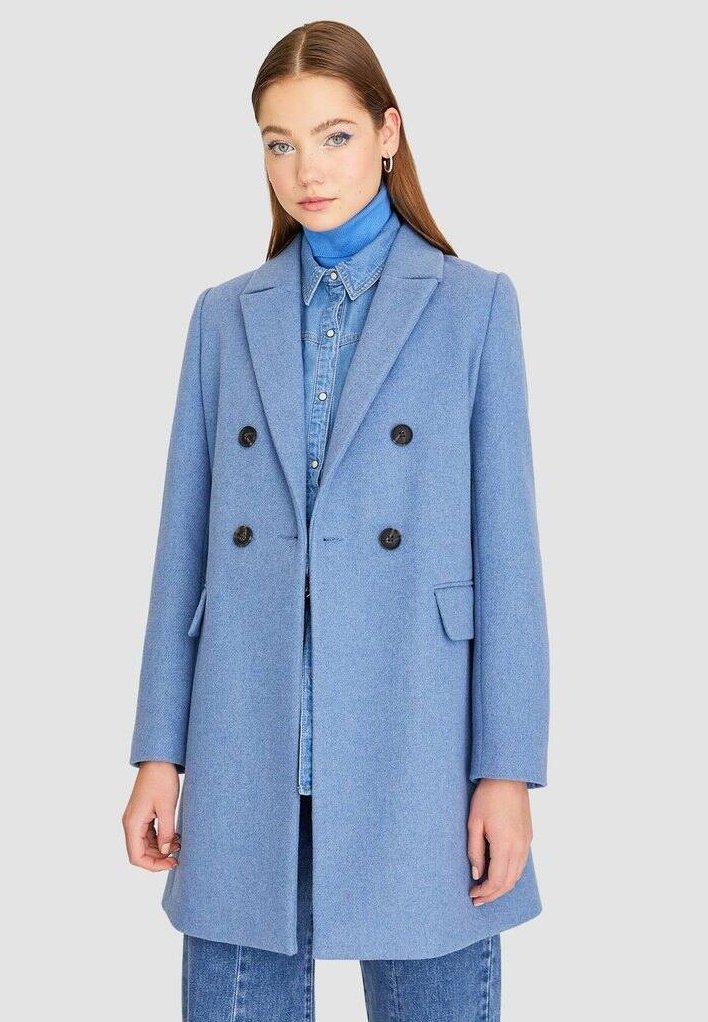 Stradivarius - Classic coat - blue