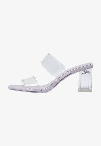 VINYL - Sandals - Transparent