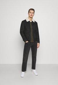 Solid - JACKET LINTON - Light jacket - dar grey - 1