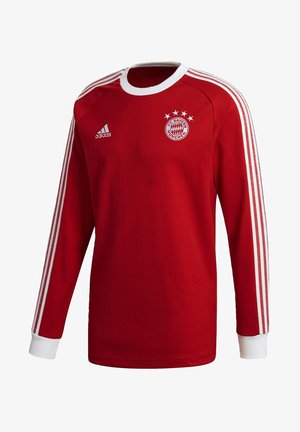 FC BAYERN LICENSED ICON LONG-SLEEVE TOP - Fanartikel - red