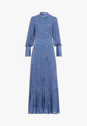 PLISSÉ - Robe longue - parisian blue