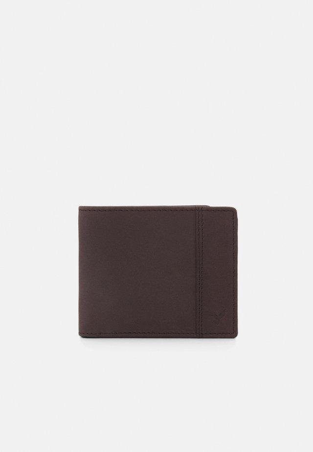 LEATHER - Peněženka - dark brown