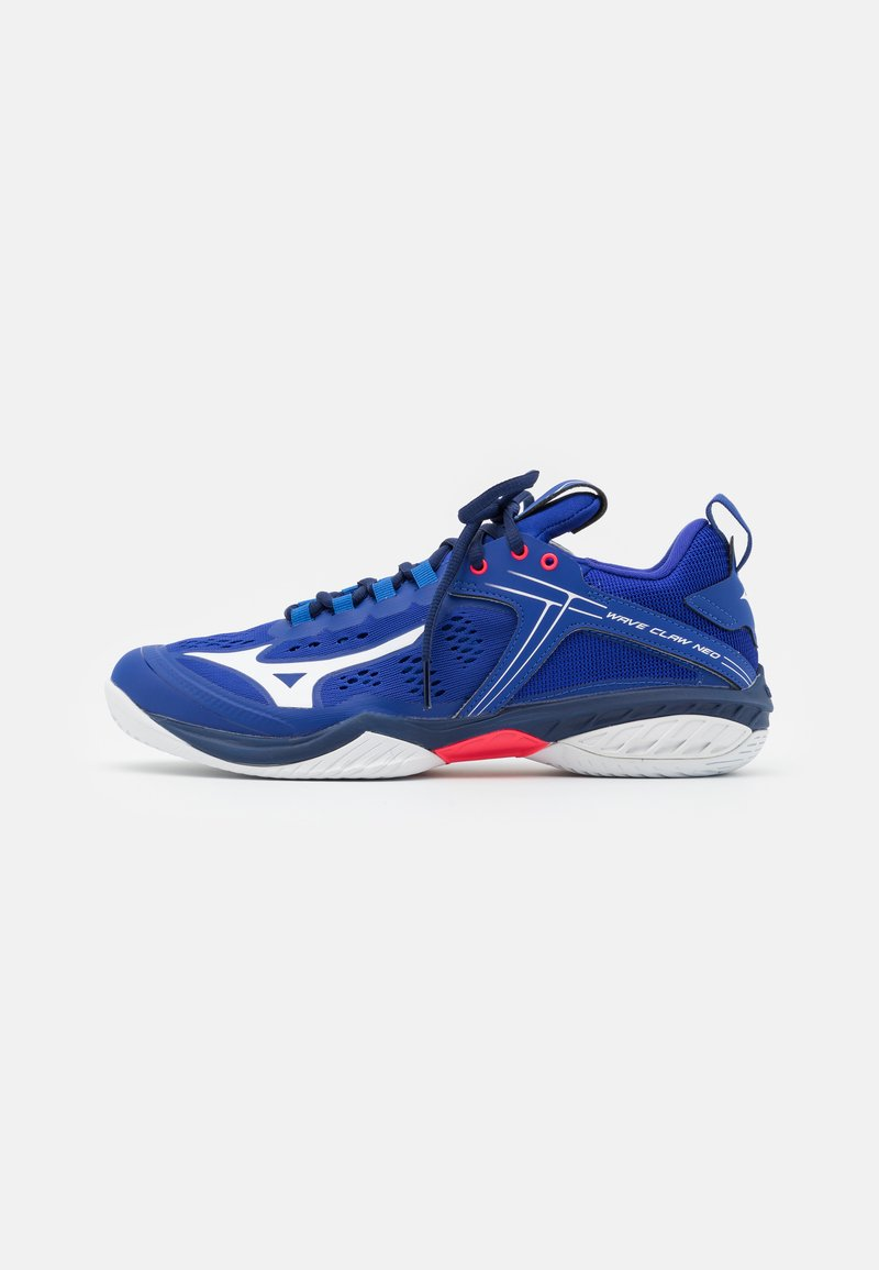 Mizuno - WAVE CLAW NEO - Multicourt tennis shoes - reflex blue/white