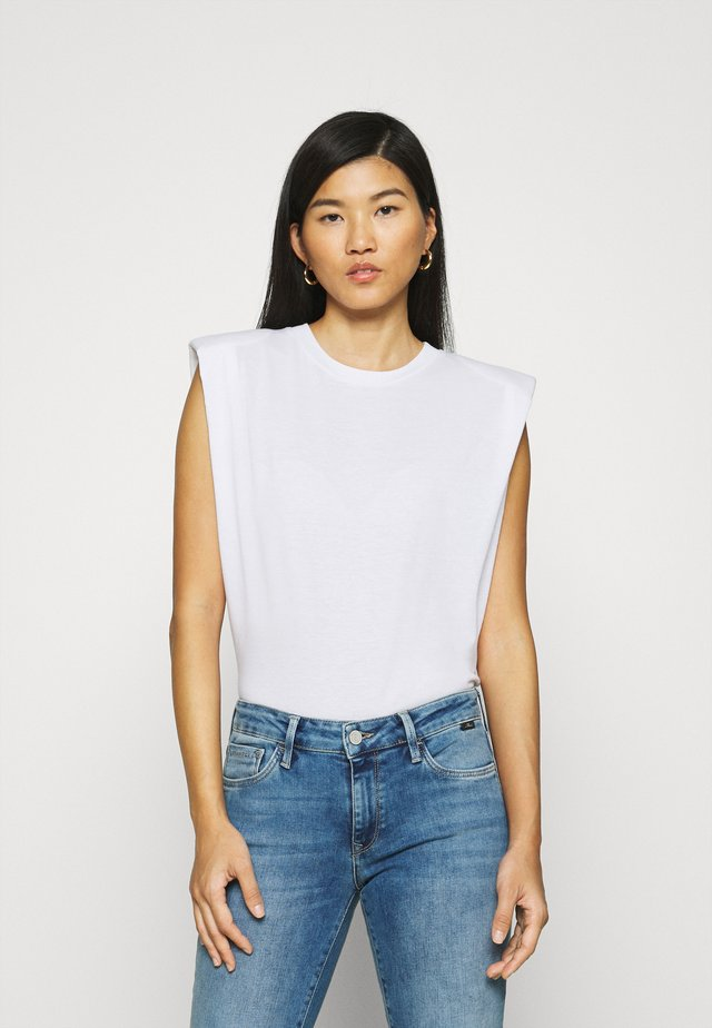 SLEEVELESS - T-shirt basic - white