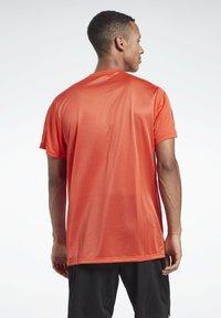Reebok - WORKOUT READY TECH - Sports shirt - red - 2