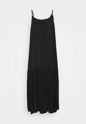 SLIP MIDI - Day dress - black