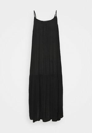 SLIP MIDI - Vestido informal - black