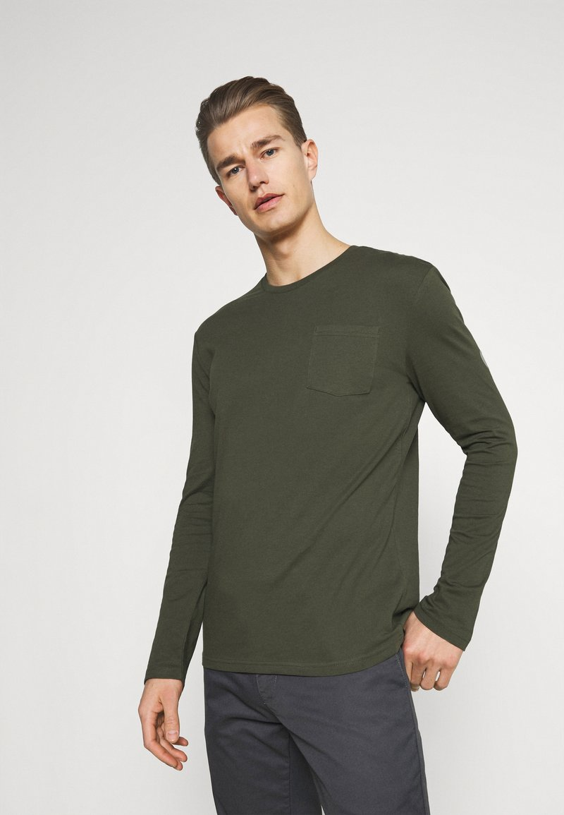 Pier One - Long sleeved top - olive