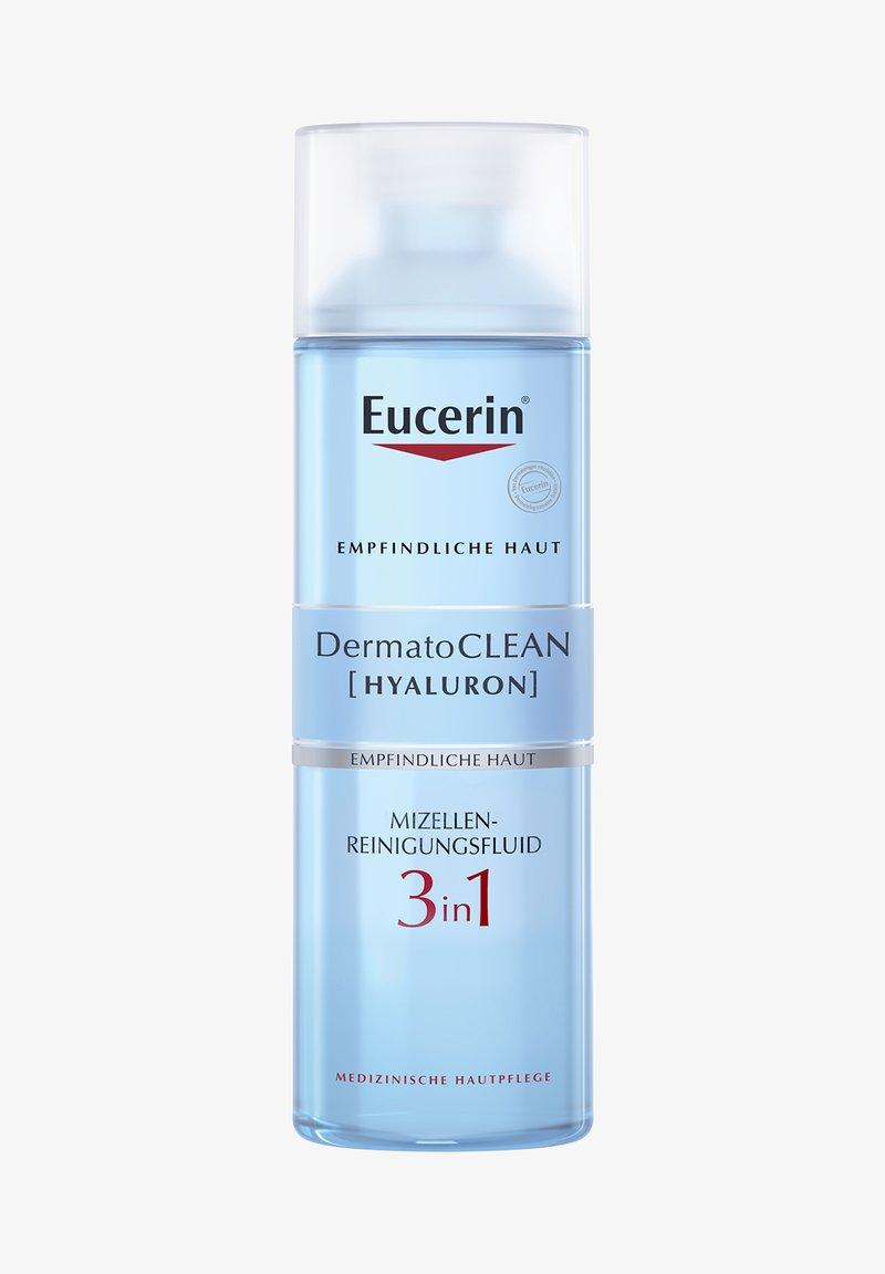 Eucerin - MIZELLEN-REINIGUNGSFLUID 3 IN 1 DERMATOCLEAN [HYALURON] - Cleanser - -
